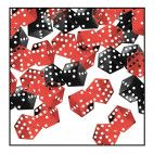 Casino fest konfetti terninger
