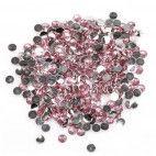 Rhinsten 4mm lyserød
