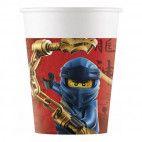 Ninjago papkrus, 8 stk