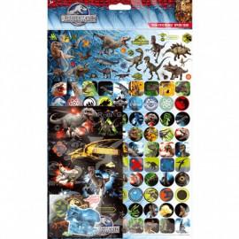 Jurassic World stickers mega