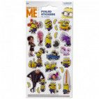 Minions folie stickers - Despicable Me 2