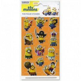 minions-stickers-klistermærker