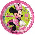 Minnie Mouse tallerken, 8 stk