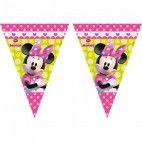 Minnie Mouse flag vimpel guirlande