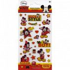 Mickey Mouse folie stickers ark