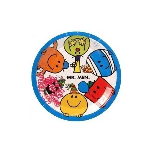 Mr. Men tallerken, 1 stk