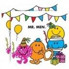Mr. Men servietter, 1 stk