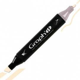GRAPH'IT Twin Tip Marker GI01210 Cream tusser