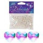 Diamanter, Iriserende hjerte, 12mm
