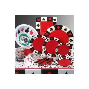 Casino borddækning