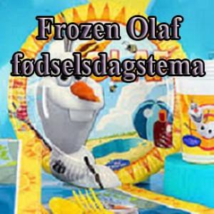 Frozen Olaf fødselsdag