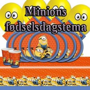 Minions fødselsdag tema