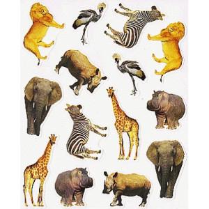 Stickers med dyr
