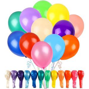 Ensfarvet balloner