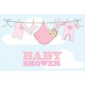 Baby shower pige