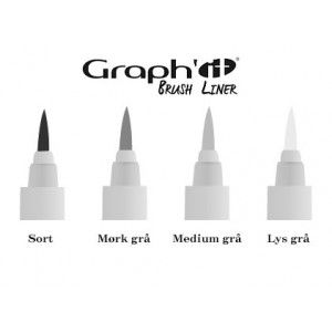 Graph'it Brush & Fine Liners