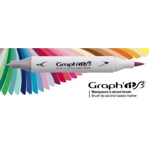 Graph'it Twin Brush Markers