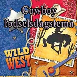 Cowboy fødselsdag