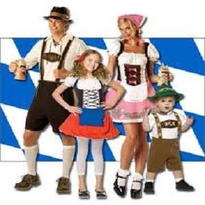Oktoberfest udklædning