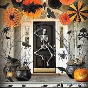 Halloween pynt & dekoration