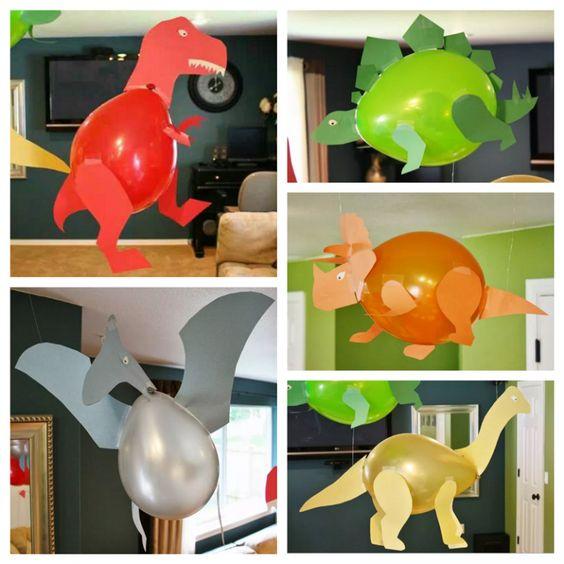 Dinosaur balloner